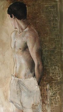 Custom Made Male  Figurative Painting