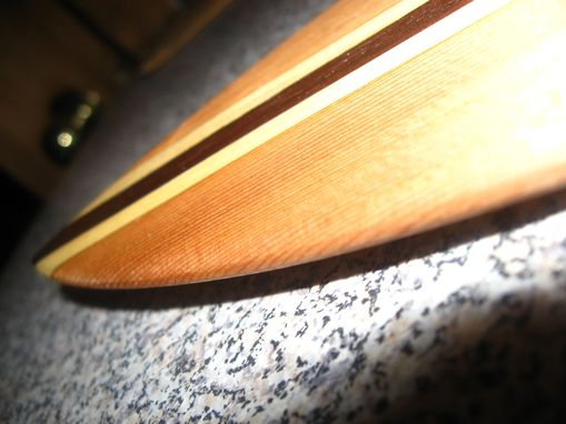 Custom Made Mini Wooden Surfboard
