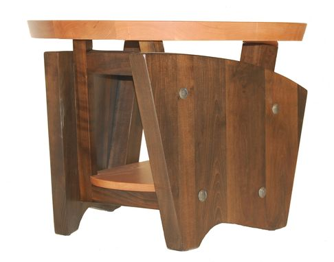 Custom Made Contempo-Prairie Lamp Table