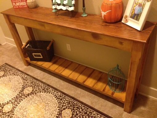 Custom Made Rustic Hallway/Sofa Table