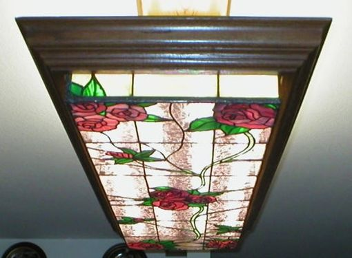 Custom Made Roses Light Fixture