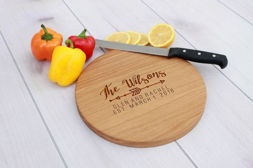 Custom Made Personalized Cutting Board, Engraved Cutting Board, Custom Wedding Gift – Cbr-Wo-Wilsons