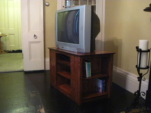 Custom Made Tv Stand/Dvd Shelf