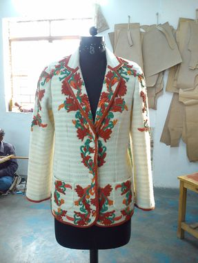 Custom Made Beaded Jacket Lavanya Coodly Aw 2015/2016