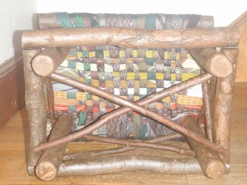 Custom Made Rustic Footstool