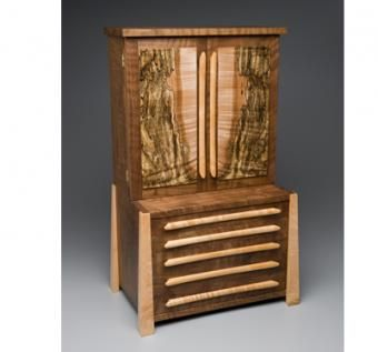 Custom Made Mini-Armoire