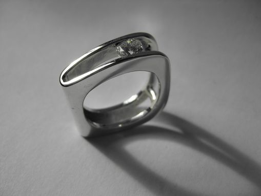 Custom Made Diamond Book Ring