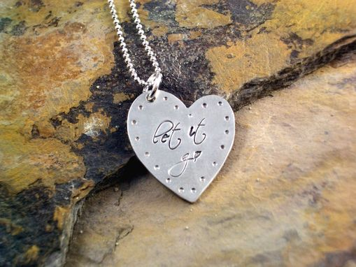 Custom Made Wise Heart Necklace