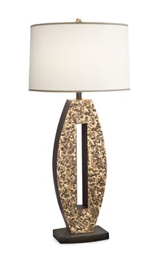 Custom Made Hand Fabricated Full Bronze Needle Floor And Table Lamp Lamps