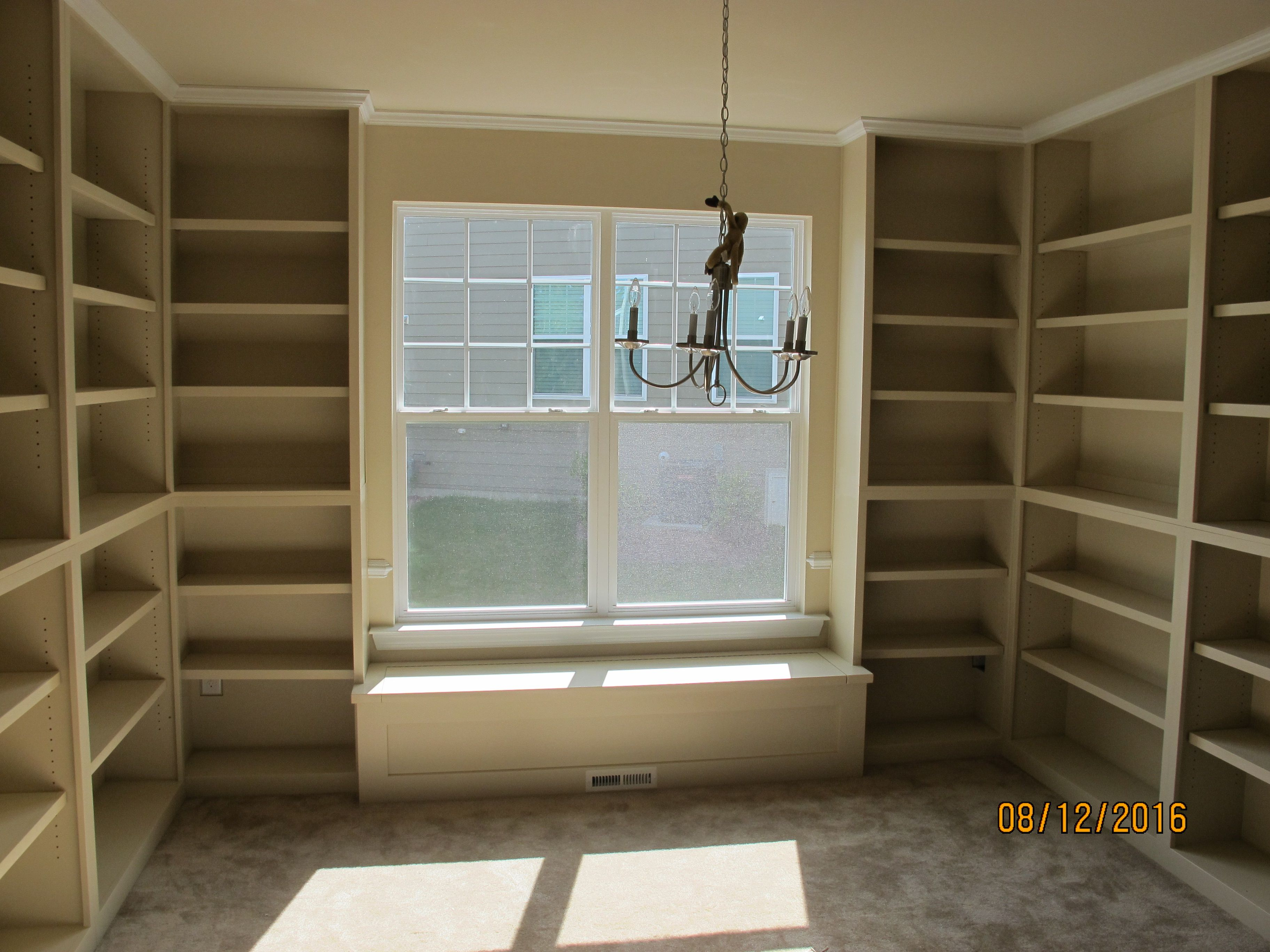 Wondrous Hand Crafted Custom Built In Bookcases With Window Seat By Uwap Interior Chair Design Uwaporg