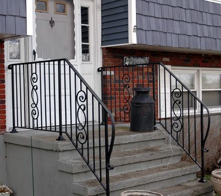 Custom Made Wrought Iron Railings