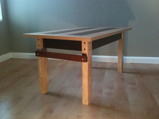 Custom Made Coffee Table- Maple/Birch
