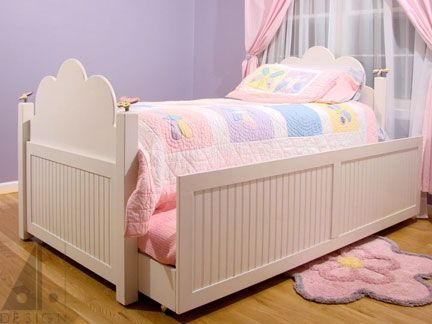 Custom Made Children's Trundle Bed