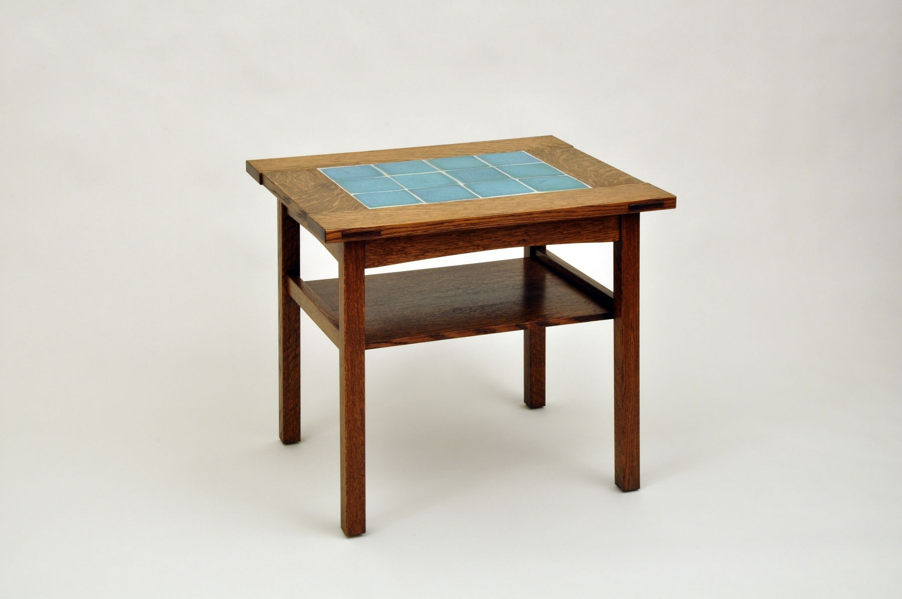Arts and crafts tables - Custom Made Arts And Crafts End Table