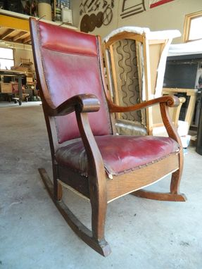 Custom Made Heirloom Rocking Chair