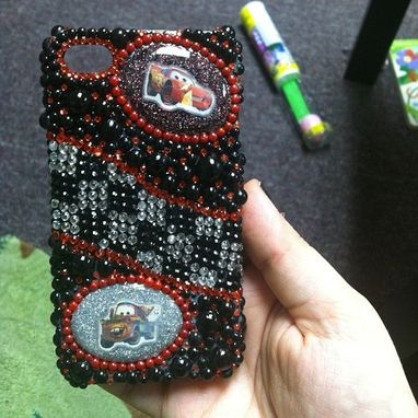 Custom Made Disney Pixar Cars Inspired Cellphone Case