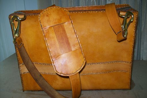 Custom Made Leather Laptop Bag For Macair 11
