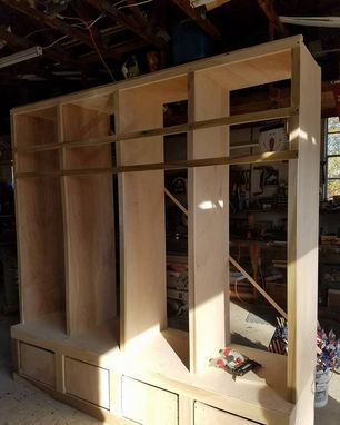 Custom Made Entryway Lockers