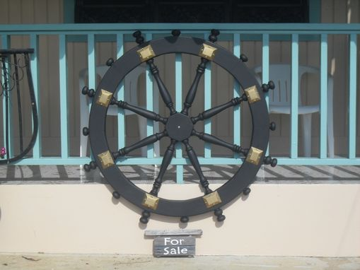 Custom Made Ships Wheel
