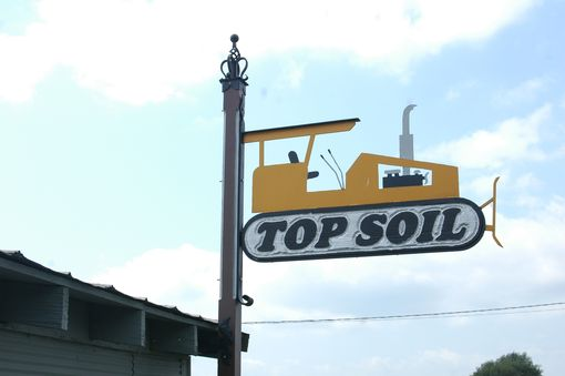 Custom Made Top Soil Sign