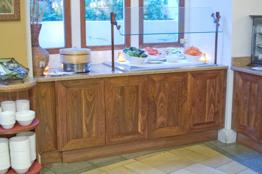 Custom Made Restaurant Cabinets