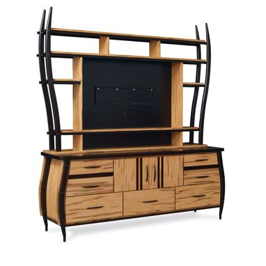 Custom Made Serengeti Carriage Gazelle Entertainment Center