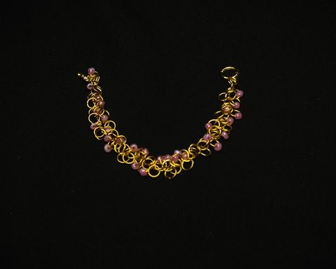 Custom Made Basic Chainmaille Bracelets, Anklets, And Necklaces