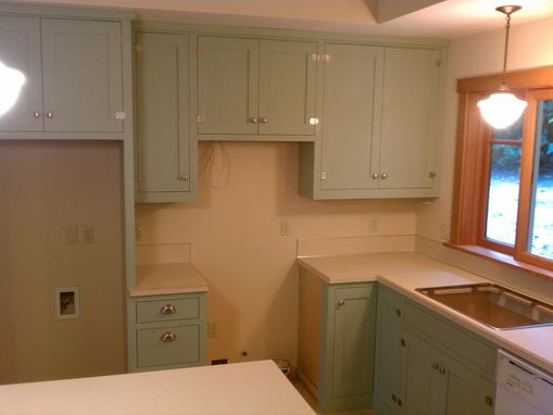 "Custom Made ""Arts And Crafts"" Kitchen"