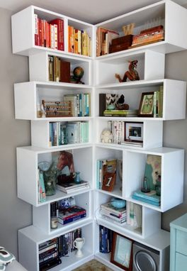 Custom Made Cubby Book Shelf