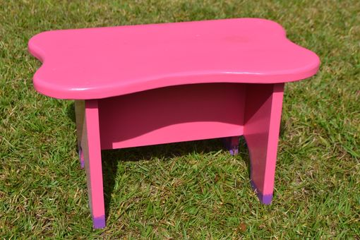 Custom Made Children's Stool