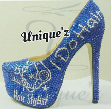 Custom Made Hair Stylist Heels