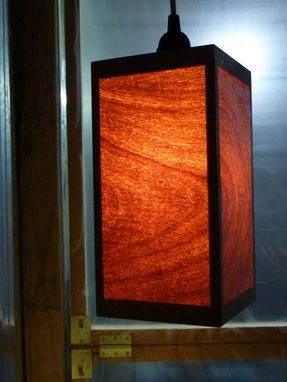 Custom Made Mahogany Lights