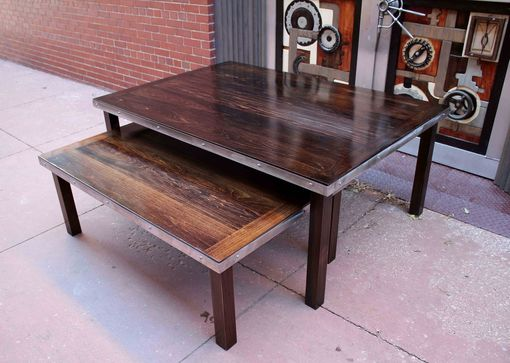 Custom Made Double Coffee Tables