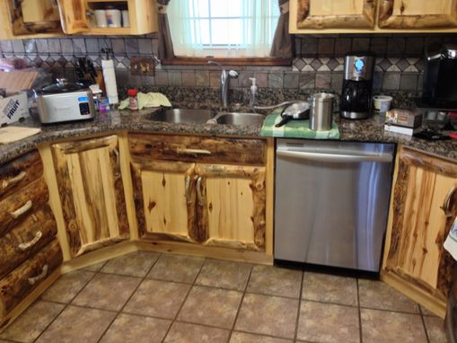 home built kitchen cabinets made rustic aspen log kitchen cabinets and built in 4237