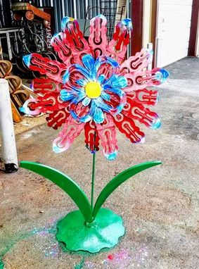 Custom Made Large Outdoor Garden Flower By Raymond Guest