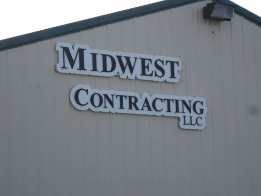 Custom Made Commercial Contractor's Sign