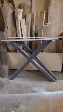 Custom Made X Frame Steel Legs