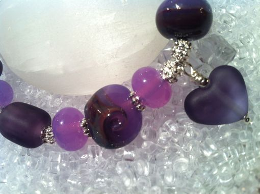 Custom Made Bracelet-Lilac & Purple