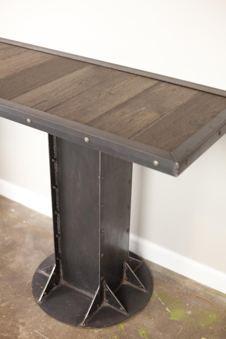 Buy A Custom Console Table Sofa Side Table Vintage Industrial