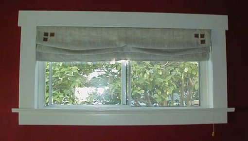 Custom Made Roman Shade