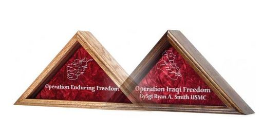 Custom Made Operation Enduring Freedom - Flag Case