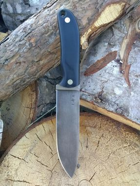 Custom Made Handmade Bushcraft Knife Hunting Camping Fixed Blade
