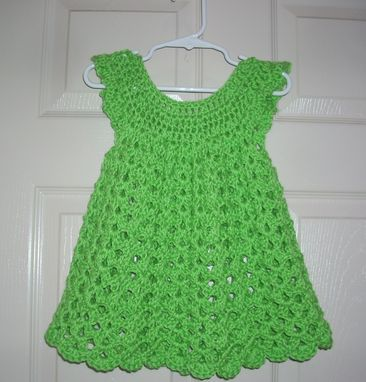 Custom Made Childs Angel Wings Dress