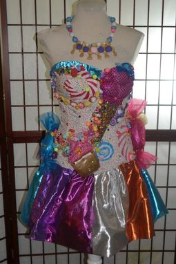 Hand Made Katy Perry California Gurls Candyland Dress By Parasite Eve Designs Custommade Com