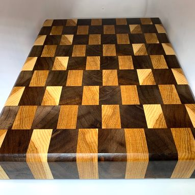 Custom Made Walnut And Hickory Cutting Board