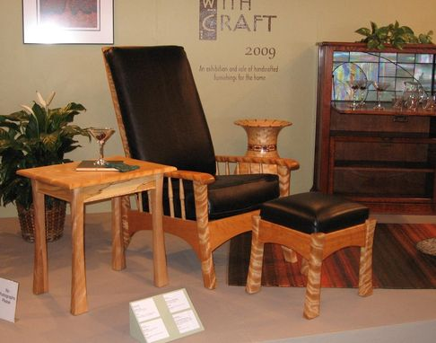 Custom Made Easy Chair And Accessories