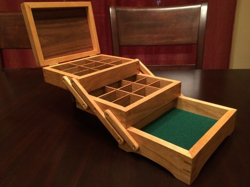 Handmade Fold Out Jewelry Box By Inhim Studio Custommade Com