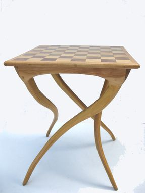 Custom Made Chess Tree Table