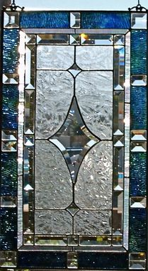 Custom Made Traditional Stained Glass Window/Panel