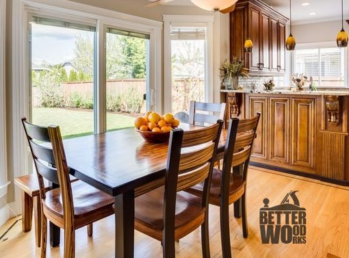 Hand Made Custom Exotic Dining Table And Chairs by Better ...